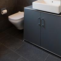 Unterschränke im Bad – mit leistungsstarkem Fön